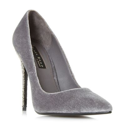 Dune - Grey 'Bryleigh' court shoes