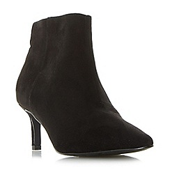 Roberto Vianni - Black 'obey' pointed toe ankle boots