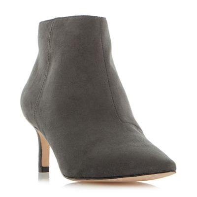 Roberto Vianni - Grey 'obey' pointed toe ankle boots