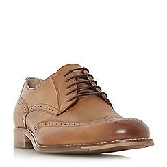 Dune - Tan 'Banbury' leather brogue shoes