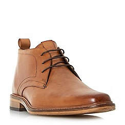 Dune - Tan 'Malta' smart lace up boots