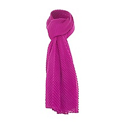 Dune - Pink 'Larisa' pleated scarf