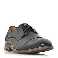 Dune - Black 'Bauer' toecap casual gibson shoes