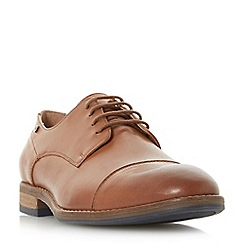 Dune - Tan 'Bauer' toecap casual gibson shoes