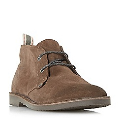 Bertie - Brown 'Castle' lace up desert boots