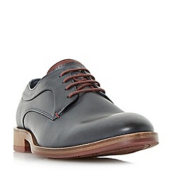 Dune - Navy 'Brysonn' casual lace up gibson shoes