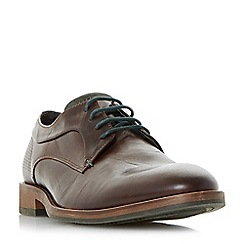 Dune - Brown 'Brysonn' casual lace up gibson shoes
