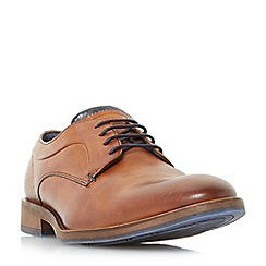 Dune - Tan 'Brysonn' casual lace up gibson shoes