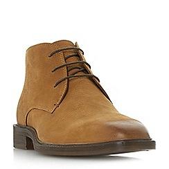 Bertie - Tan 'Mogul' lace up chukka boots