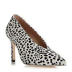 Dune Black - Multicoloured leather 'Amigos' high stiletto heel court shoes