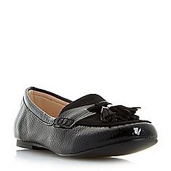 Roberto Vianni - Black 'Gabi' tassel loafers