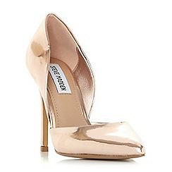 Steve Madden - Rose suede 'Vertigo' high stiletto heel court shoes