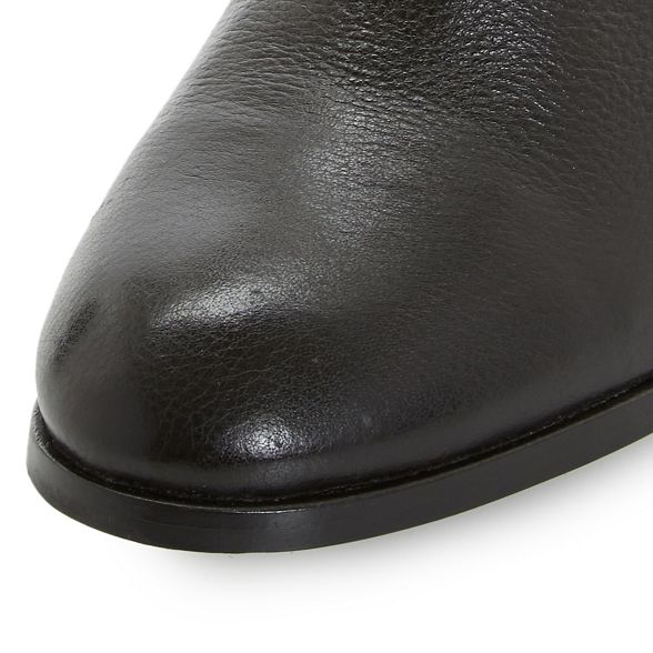 boots block ankle Black heel 'Padington' leather Dune zB0ZW