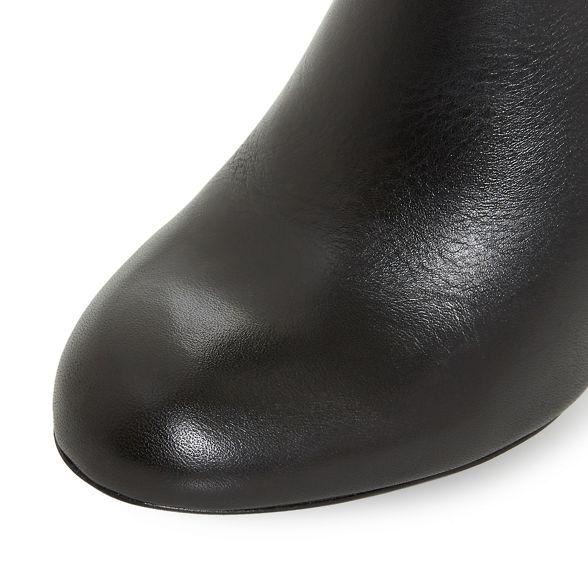 'Oland' nbsp; heel leather nbsp; ankle nbsp; stiletto nbsp; high nbsp; Black nbsp; nbsp; boots nbsp; Dune qT4xBnERw7