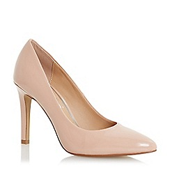 Head Over Heels by Dune - Natural 'Alexxa' court shoes