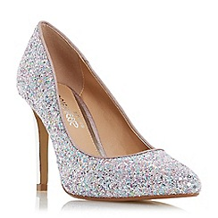 Head Over Heels by Dune - Multicoloured glitter 'Alexxa' court shoes