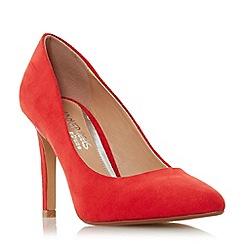 Head Over Heels by Dune - Red 'Alexxa' high stiletto heel court shoes