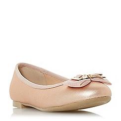 Head Over Heels by Dune - Rose 'Haze' ballerina shoes