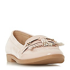 Head Over Heels by Dune - Natural 'Gigli' loafers