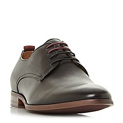 Dune - Black 'Pique' formal lace up gibson shoes