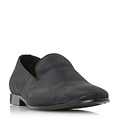 Dune - Black 'Poole' slipper cut loafers