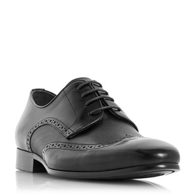Dune - Black 'Puglia' wingtip brogue shoes