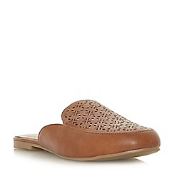 Head Over Heels by Dune - Tan 'Galore' loafers