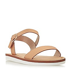 Head Over Heels by Dune - Rose 'Lizett' ankle strap sandals