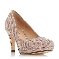 Roland Cartier - Rose 'Bolla' high stiletto heel court shoes