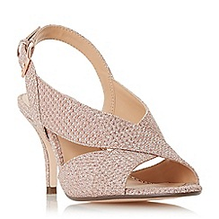 Roland Cartier - Rose 'Matilda' mid kitten heel court shoes