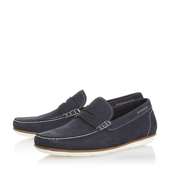 'Balloon' loafers shoes Dune contrast Navy sole xYqPS0F