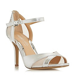 Head Over Heels by Dune - Silver glitter 'Molli' court shoes