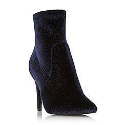 Dune - Navy 'Ormand' high stiletto heel shoe bootsááááááááá