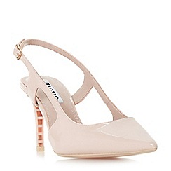 Dune - Light pink 'Crowne' court shoes