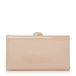 Roland Cartier - Natural briana' oval diamante clasp clutch bag