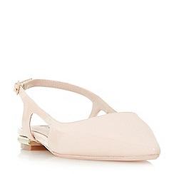 Dune - Light pink 'Cartelle' court shoes