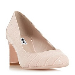Dune - Light pink 'Addena' court shoes