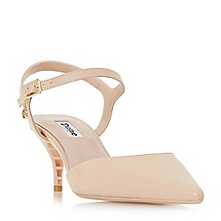 Dune - Natural 'Christyne' court shoes