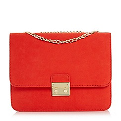 Head Over Heels by Dune - Bess' square lock chain strap bag