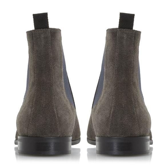 smart Chelsea Grey boots 'Malcom' Dune qT8BExq