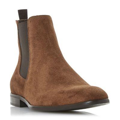 Dune - boots Tan 'Malcom' smart Chelsea boots - 733600