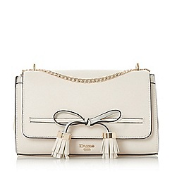 Dune - Cream 'Esse' bow detail cross body bag
