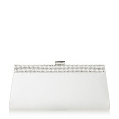 Roland Cartier - Belrie' diamante trim clutch bag