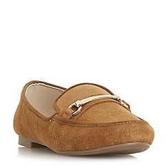 Roberto Vianni - Tan suede 'Gabriele' loafers