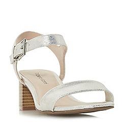 Roberto Vianni - Natural 'Jenelle' ankle strap sandals