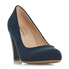 Roland Cartier - Navy 'Averly' high stiletto heel court shoes