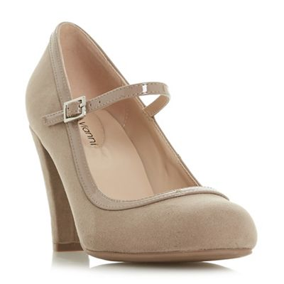 Roberto Vianni   Taupe 'arora' High Stiletto Heel Court Shoes by Roberto Vianni