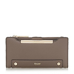 Dune - Grey 'Kessica' slim line purse with removable card holder