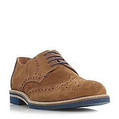 Dune - Tan 'Benitez' coloured sole brogue shoes
