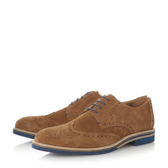 'Benitez' Dune shoes brogue coloured sole Tan wxzyHq08Y